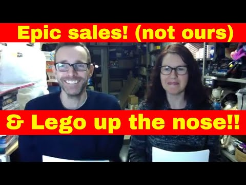Epic ebay sales (not ours ) & Lego up the nose!! UK reseller live chat