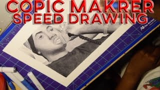 NAS COPIC MARKER SPEED DRAWING android phone