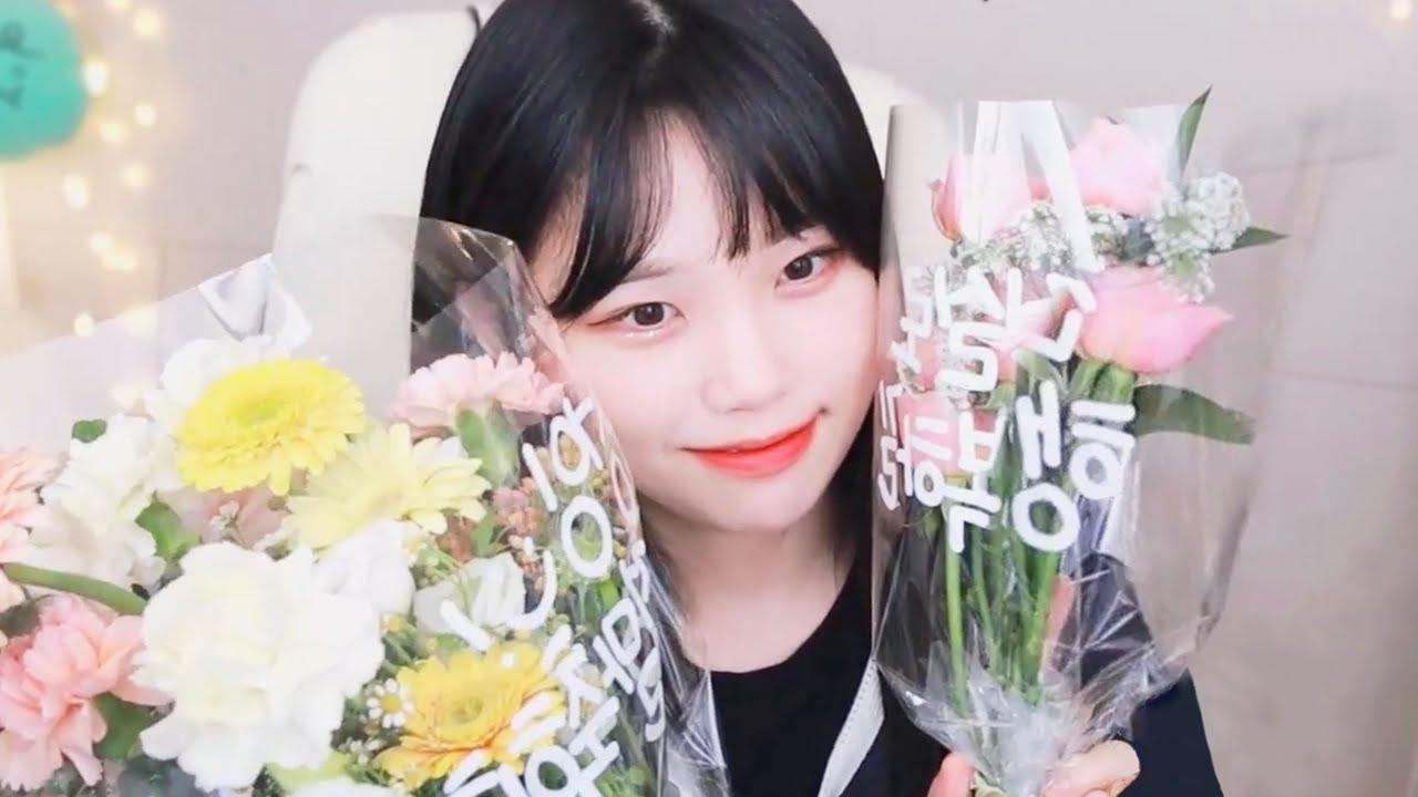 누가 꽃이게?