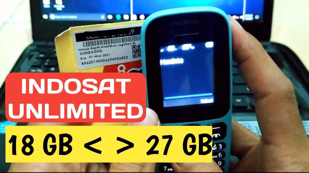 Perdana Kuota Indosat Unlimited Bonus Casback Yang Besar   Kegiatan Outlet - Sanjaya.com