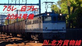 75レ EF65 2094 堀上村踏切にて 2017/04/23