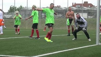 Unser 1.Spiel gegen Kickers for Help am 13.08.2016