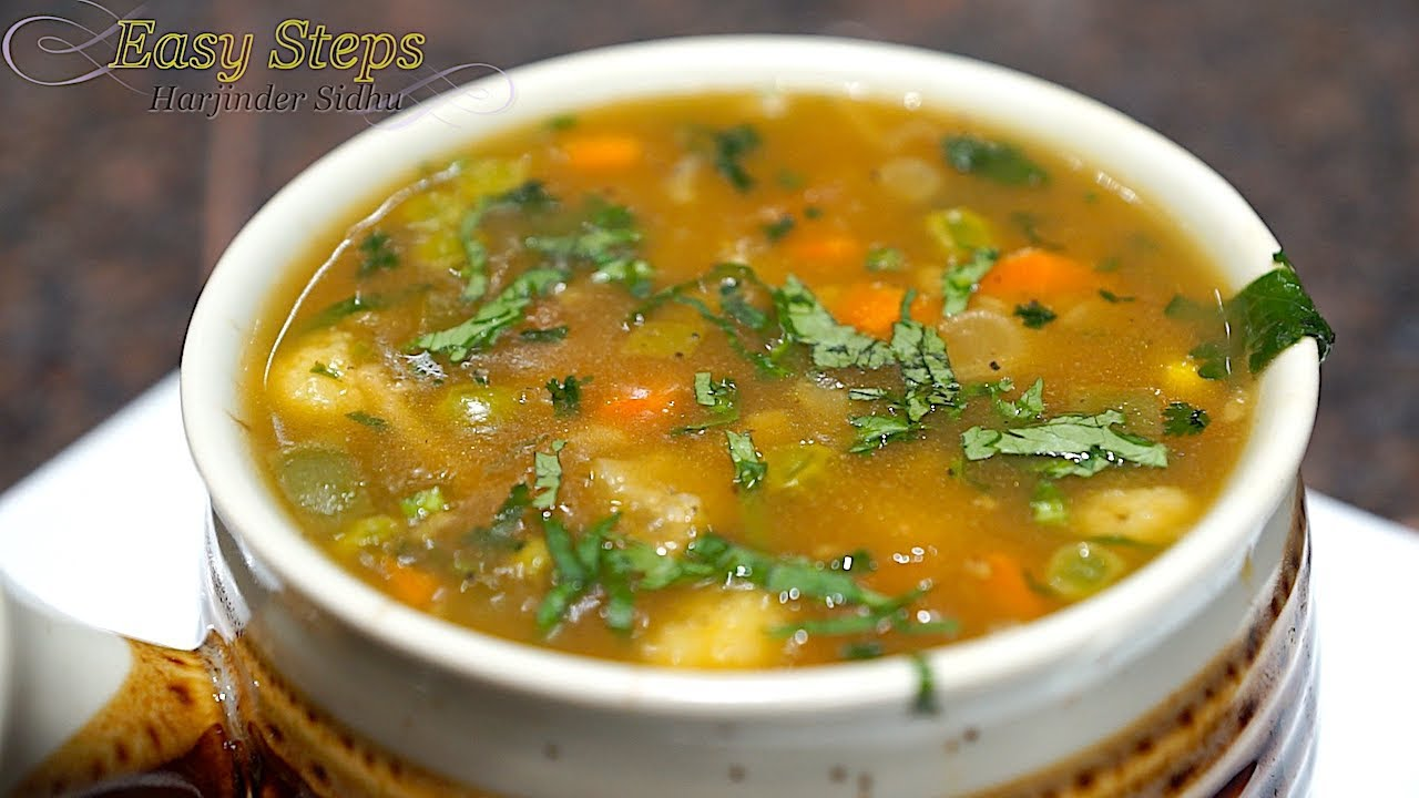 Best easy vegetarian soup recipes