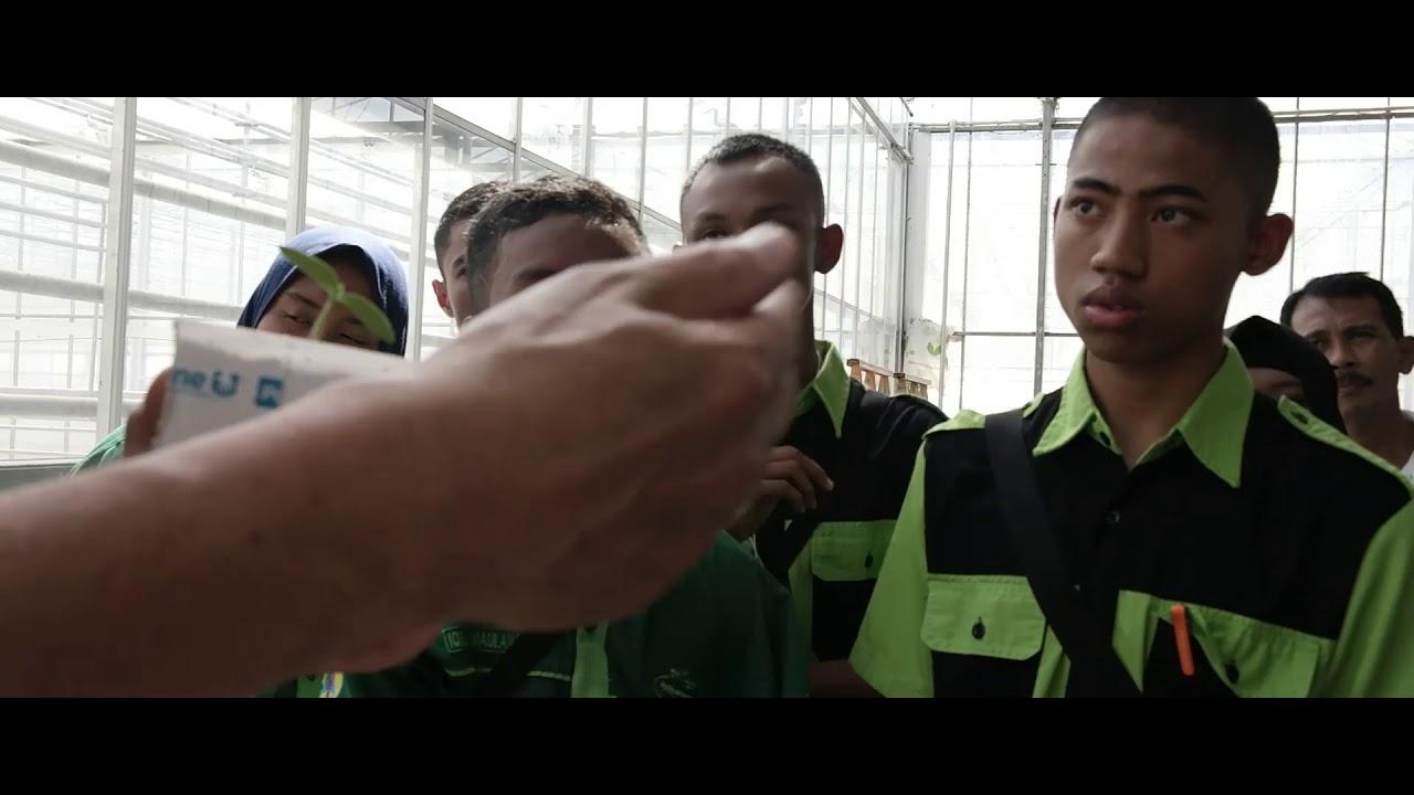 Kunjungan SMK Pertanian/SMKN 2 Subang - Stempert Ke Belanda