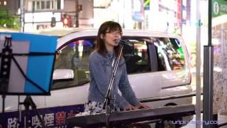 【池袋 路上ライブ-2】 宮崎奈穂子, 2016.5.15.