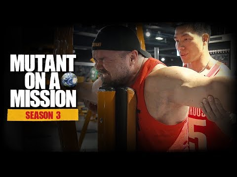 MUTANT ON A MISSION - People Fitness Taipei, Taiwan