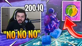 When Courage **200 IQ** Plays with Freeze Trap - FORTNITE HIGHLIGHTS & FUNNY MOMENTS