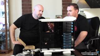 Thermaltake Armor Revo Snow Edition Full Tower Case Unboxing & Detailed Overview / Tour