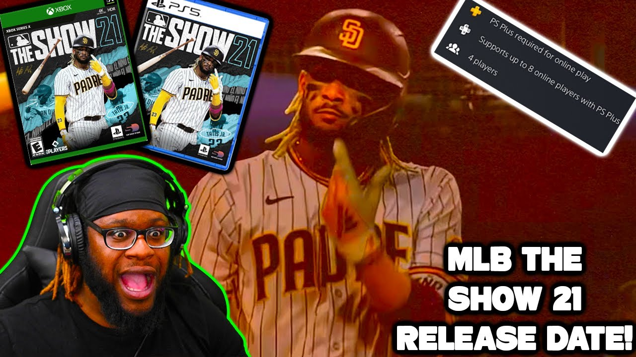 MLB The Show 21 Cover & Release Date CONFIRMED! (New Features, Cross-Play, 8 Player Co-Op? &