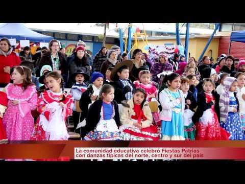 Fiestas Patrias Escuela Carlos Prats  Huechuraba, Septiembre 2015