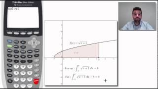 Grafische rekenmachine - vergelijking met een integraal