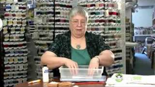 Cross Stitch - Washing & Pressing the Project