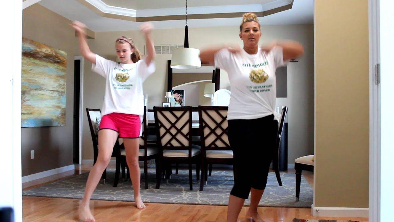 how to make a cheer routine
