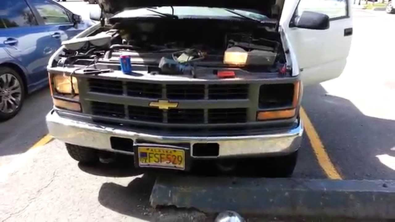 W T Seal Beam Headlights To Lamp Conversion Wiring For 1999 Gmc 5 7 Engine Youtube Premium