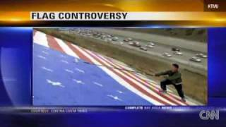 California bans American Flag Again!