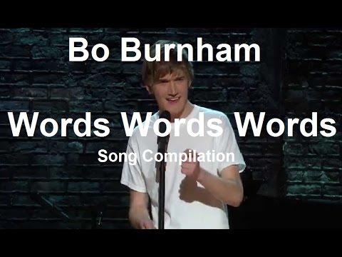 "Bo Burnham - Songs from ""Words Words Words"" w/ Lyrics"