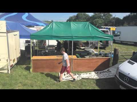 No Bones Jones Set up Glastonbury Festival 2015