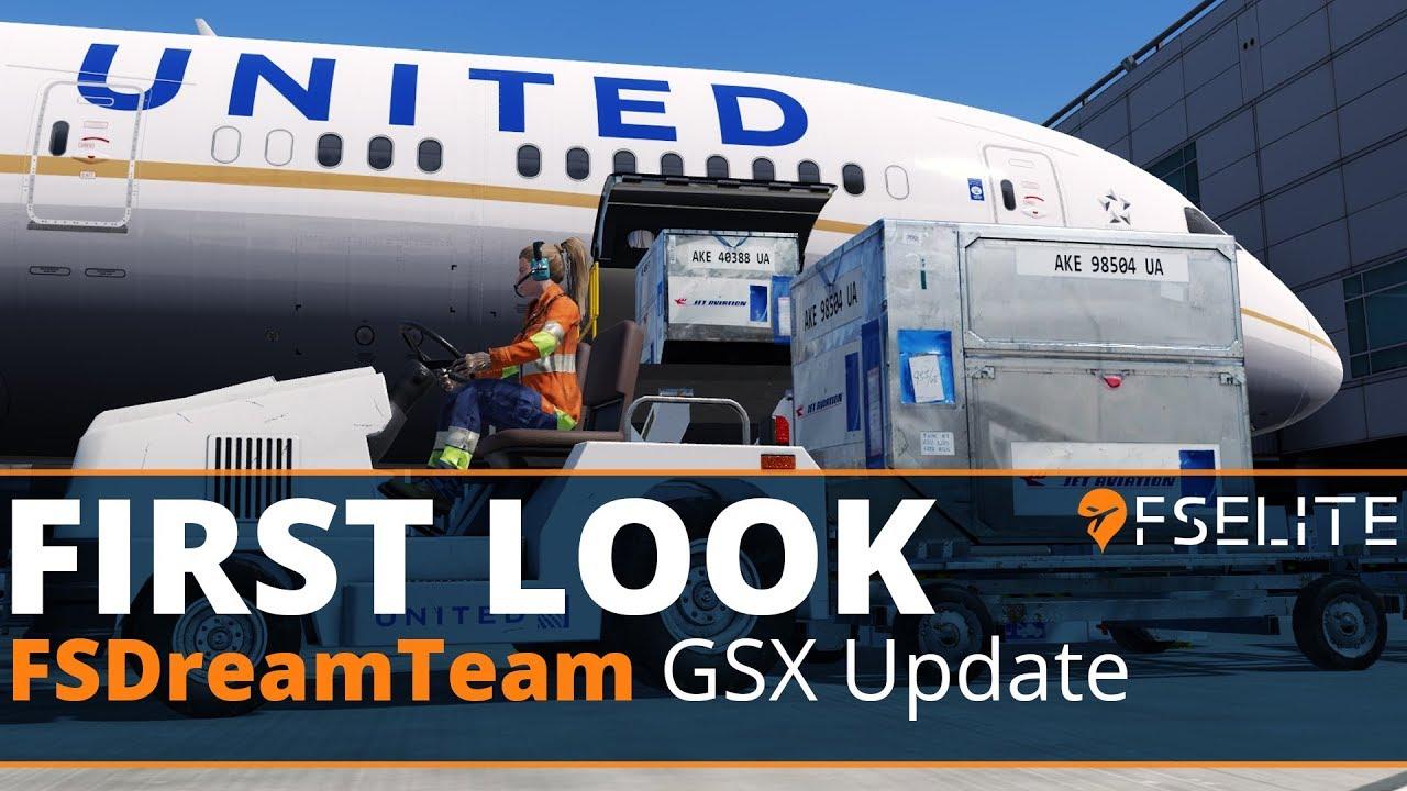 FSDreamTeam - GSX Update feat  PBR: The FSElite First Look