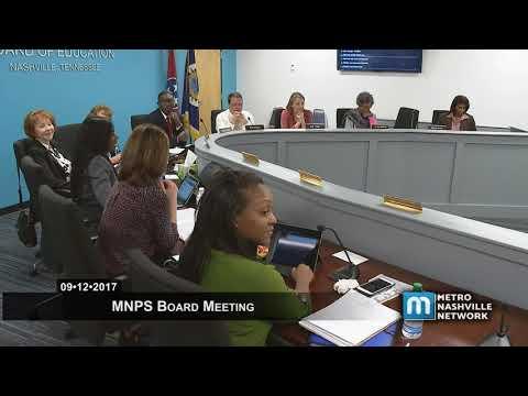09/12/17 MNPS Board Meeting Mp3