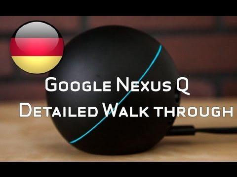 Google Nexus Q Im Test - Nexus Q Testbericht [Deutsch - German]