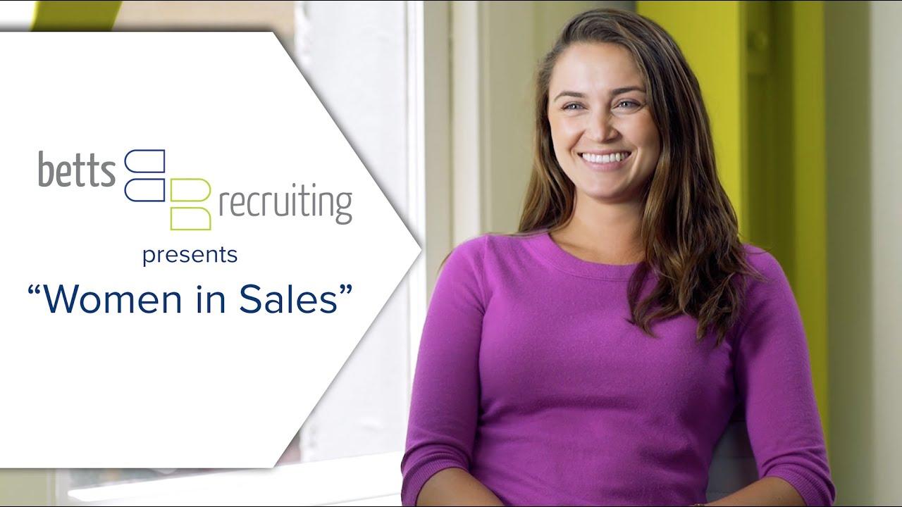 women in sales presented