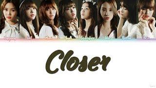 OH MY GIRL (오마이걸) – CLOSER Lyrics (Color Coded/HAN/ROM/ENG)