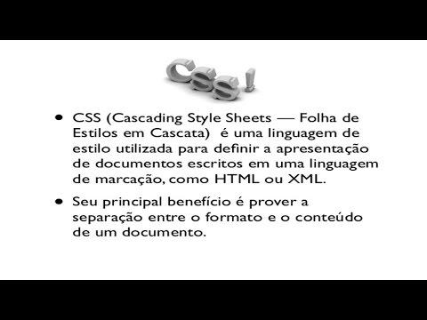 Clique e veja o vídeo Curso Desenvolvimento de Sites: Parte 2 CSS - Efeito Cascata
