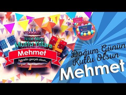 Doğum Günün Kutlu Olsun Mehmet | İsme Özel Videolar