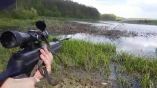 Рай для охотника, Охота на утку с пневматикой хатсан 125