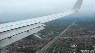 SILKY SMOOTH LANDING - American Airlines 737-800 - Landing Miami KMIA