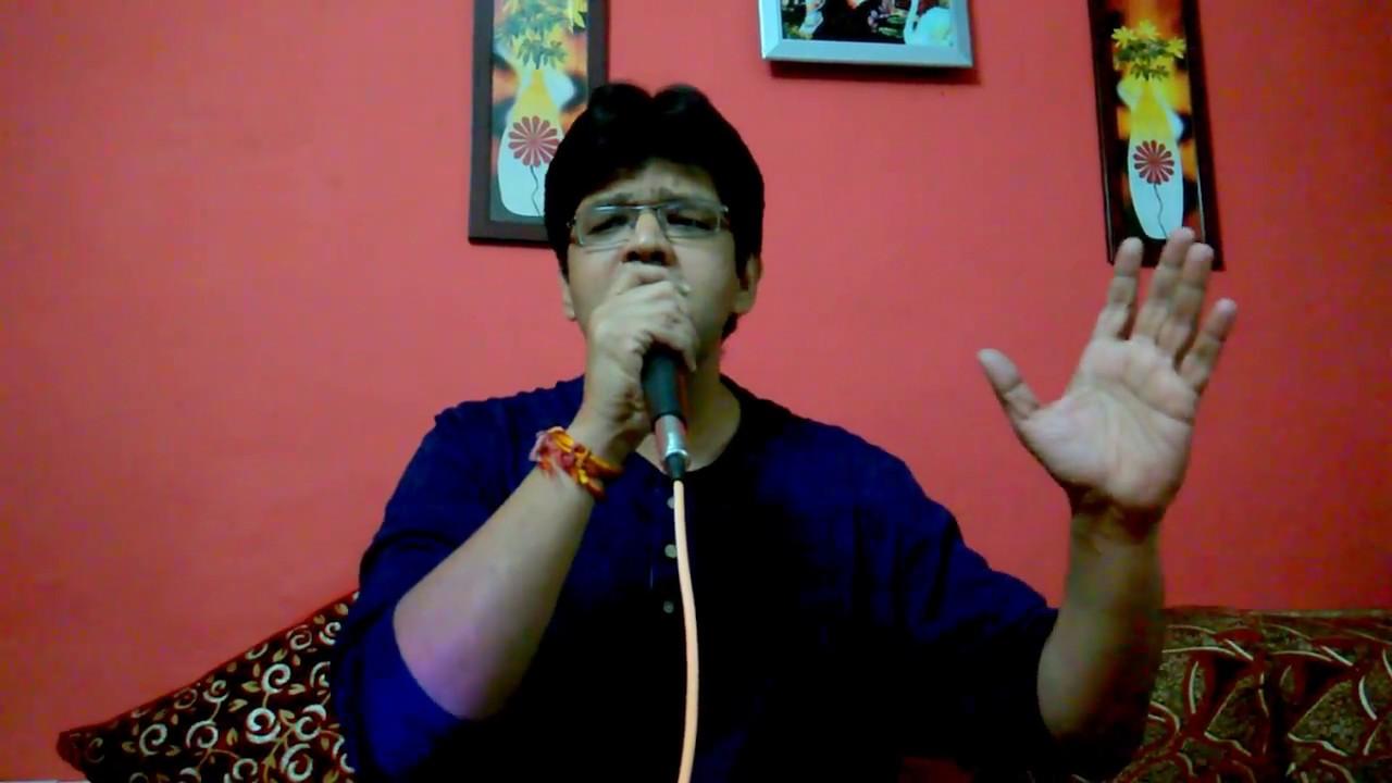 Ab tere bin jee lenge hum karaoke cover - YouTube