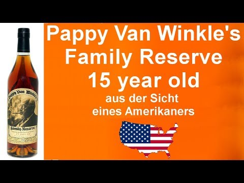 #433 - Pappy van Winkle 15 Jahre alt Whiskey Verkostung von WhiskyJason