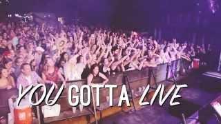 josh abbott band live it while you got it lyric video