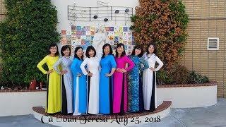09/22/2018 Choir Ca đoàn Teresa Hài Đồng Giêsu  Saint Cecilia Catholic Tustin