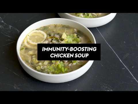 Immunity Boosting Chicken Soup Recipe