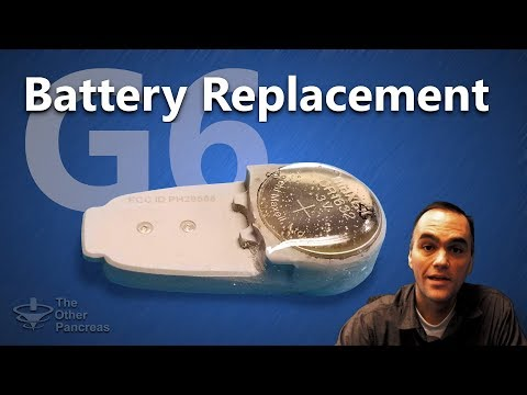 Dexcom G6 Battery Replacement