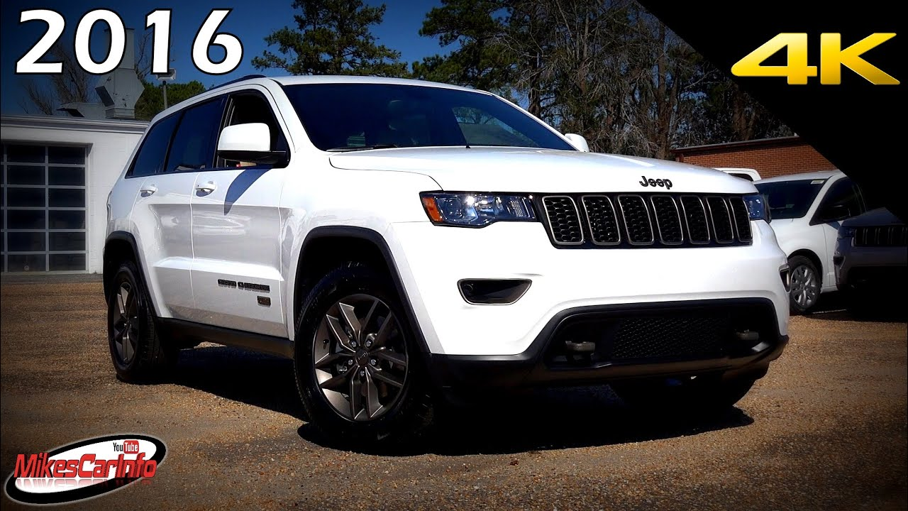 2016 Jeep Grand Cherokee 75th