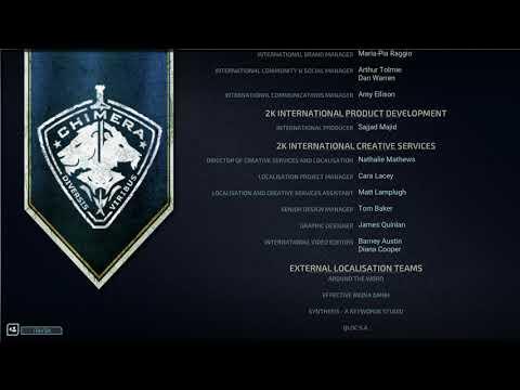 XCOM: Chimera Squad - Credits  