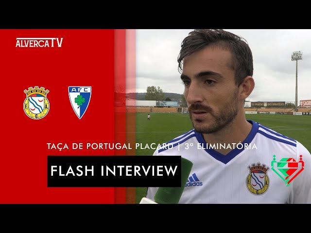 FC Alverca 4-1 Anadia FC   Flash Interview