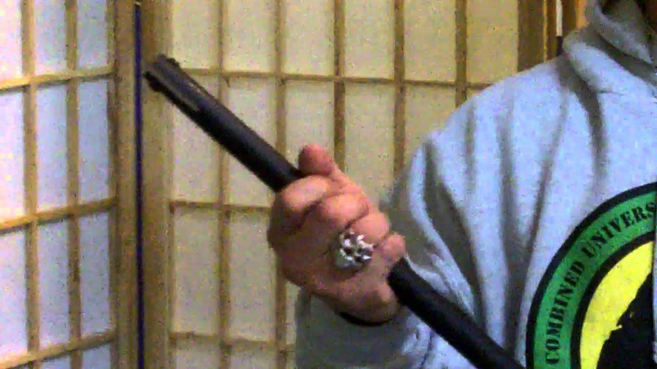 TOPS Knives Hawkin' Stick Tomahawk walking stick axe review by Waysun  Johnny Tsai