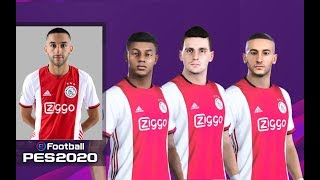 These are the ajax players faces and overalls in pes 2020. how realistic do they look which stats you like most?buy awesome football merch ...