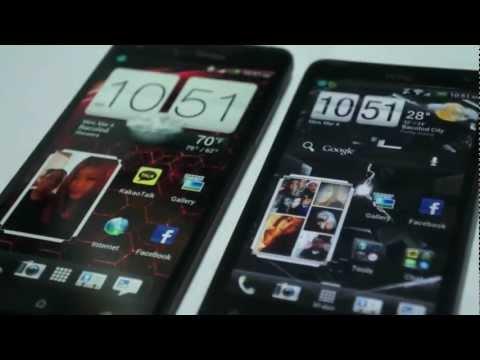 HTC Droid DNA vs. HTC Raider 4G