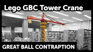 Lego Gbc Tower Crane  Bridge Module