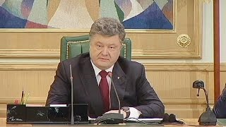 Ukrainian president lifts objections to referendum on state structure