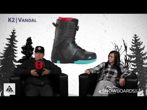 2016 K2 Vandal Boa Kids Boot Overview By SnowboardsDotCom