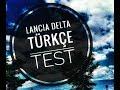 Lancia delta test sürü?ü