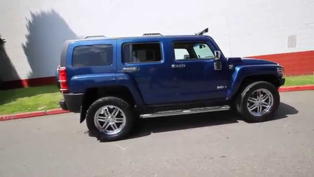 2006 Hummer H3 Superior Blue 68140693 Seattle