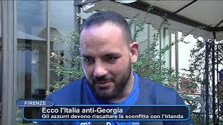 RUGBY,  ECCO L'ITALIA ANTI GEORGIA