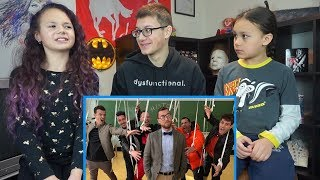 Kids REACT to New Kids On The Block - Boys In The Band (Boy Band Anthem)
