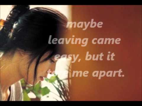 ALMOST OVER YOU... with lyrics